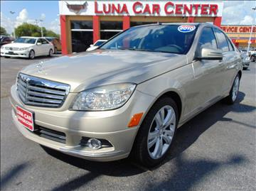 2010 Mercedes-Benz C-Class for sale at LUNA CAR CENTER in San Antonio TX