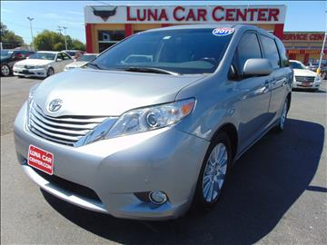 2011 Toyota Sienna for sale at LUNA CAR CENTER in San Antonio TX