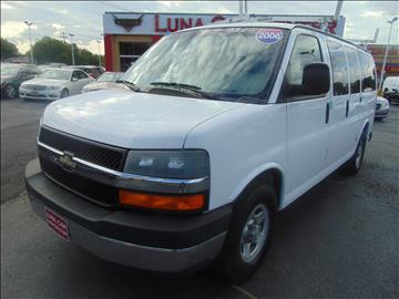 2006 Chevrolet Express Passenger for sale at LUNA CAR CENTER - Commercial Vehicles in San Antonio TX