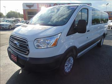 2015 Ford Transit Wagon for sale at LUNA CAR CENTER in San Antonio TX