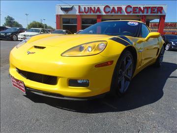 2012 Chevrolet Corvette for sale at LUNA CAR CENTER in San Antonio TX