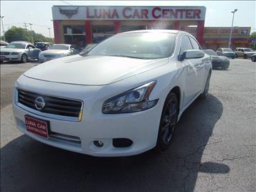 2012 Nissan Maxima for sale at LUNA CAR CENTER in San Antonio TX