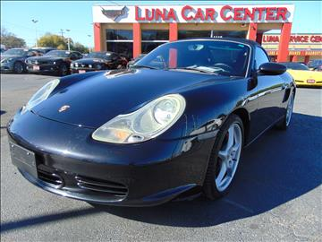 2003 Porsche Boxster for sale at LUNA CAR CENTER in San Antonio TX