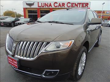2011 Lincoln MKX for sale at LUNA CAR CENTER in San Antonio TX