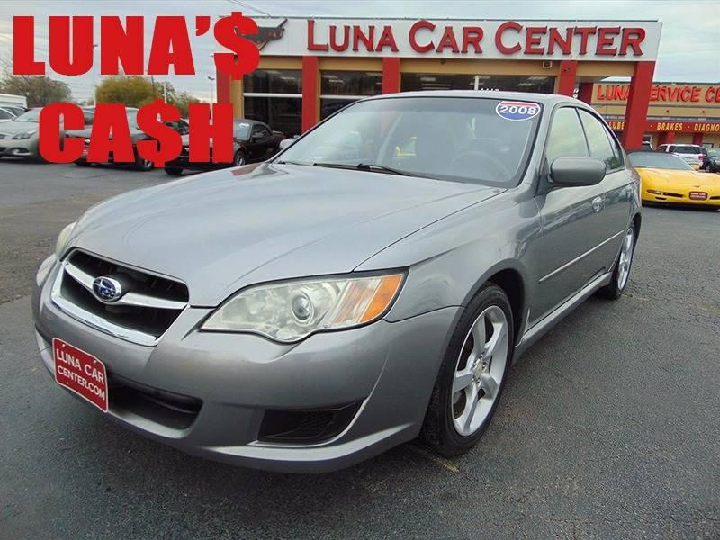 2008 Subaru Legacy for sale at LUNA CAR CENTER in San Antonio TX