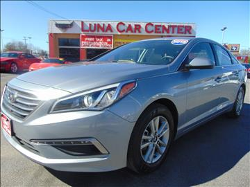 2015 Hyundai Sonata for sale at LUNA CAR CENTER in San Antonio TX