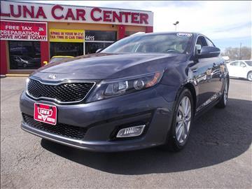 2015 Kia Optima for sale at LUNA CAR CENTER in San Antonio TX