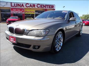 2007 BMW 7 Series for sale at LUNA CAR CENTER in San Antonio TX