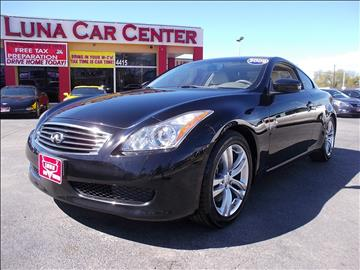 2009 Infiniti G37 Coupe for sale at LUNA CAR CENTER in San Antonio TX