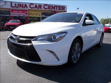 2015 Toyota Camry for sale at LUNA CAR CENTER in San Antonio TX