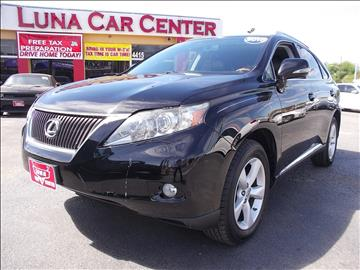 2010 Lexus RX 350 for sale at LUNA CAR CENTER in San Antonio TX