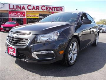 2015 Chevrolet Cruze for sale at LUNA CAR CENTER in San Antonio TX