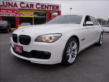 2011 BMW 7 Series for sale at LUNA CAR CENTER in San Antonio TX