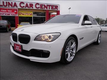 2011 BMW 7 Series for sale at LUNA CAR CENTER in San Antonio TX