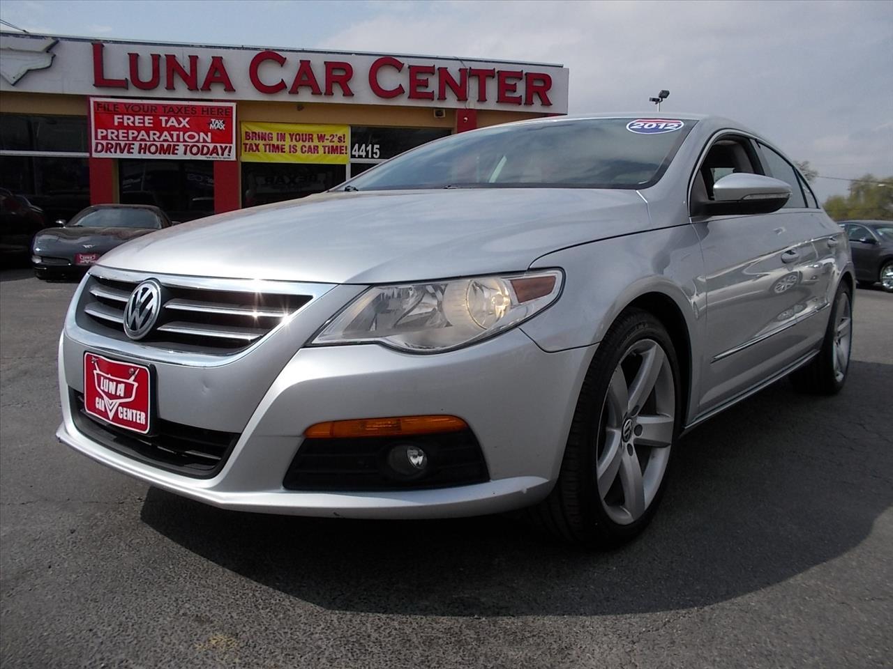 2012 Volkswagen Cc Lux A6 In San Antonio TX  LUNA CAR CENTER