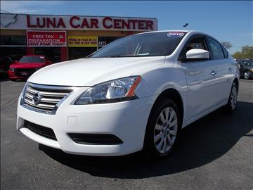 2015 Nissan Sentra for sale at LUNA CAR CENTER in San Antonio TX