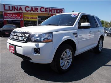 2013 Land Rover LR2 for sale at LUNA CAR CENTER in San Antonio TX