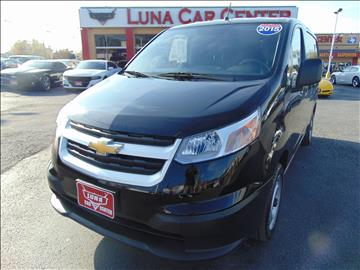 2015 Chevrolet City Express Cargo for sale at LUNA CAR CENTER - Commercial Vehicles in San Antonio TX