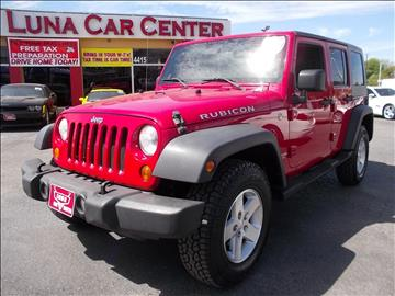 2007 Jeep Wrangler Unlimited for sale at LUNA CAR CENTER in San Antonio TX