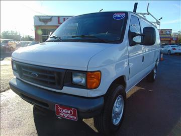 2007 Ford E-Series Cargo for sale at LUNA CAR CENTER - Commercial Vehicles in San Antonio TX