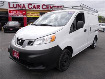 2015 Nissan NV200 for sale at LUNA CAR CENTER - Commercial Vehicles in San Antonio TX