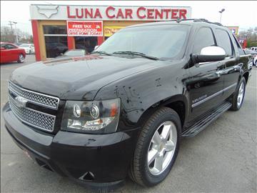 2010 Chevrolet Avalanche for sale at LUNA CAR CENTER in San Antonio TX