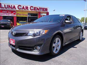 2012 Toyota Camry for sale at LUNA CAR CENTER in San Antonio TX