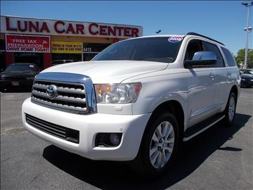 2008 Toyota Sequoia for sale at LUNA CAR CENTER in San Antonio TX