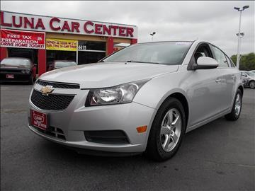 2012 Chevrolet Cruze for sale at LUNA CAR CENTER in San Antonio TX