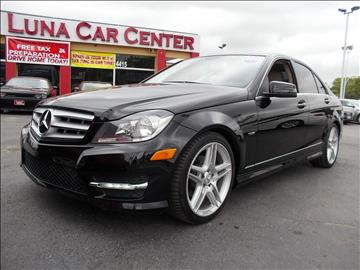 2012 Mercedes-Benz C-Class for sale at LUNA CAR CENTER in San Antonio TX