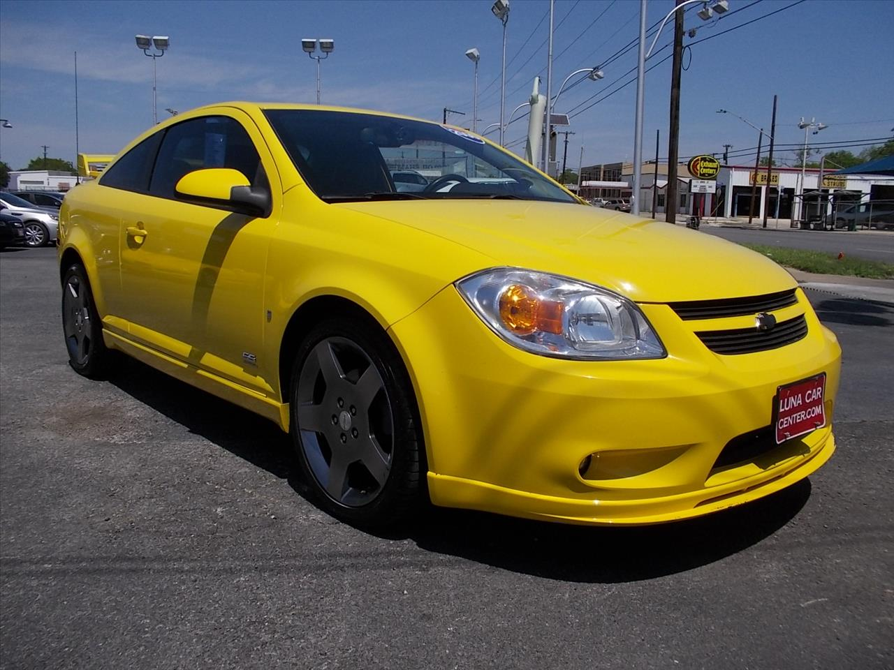 2006 Chevrolet Cobalt SS 2dr Coupe w/2.0L S/C w/ Front and Rear ...