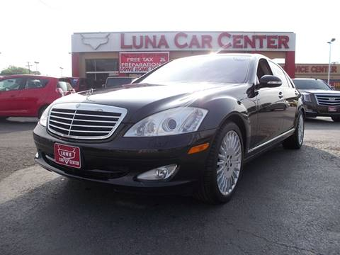 2007 Mercedes-Benz S-Class for sale at LUNA CAR CENTER in San Antonio TX