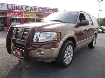 2011 Ford Expedition for sale at LUNA CAR CENTER in San Antonio TX