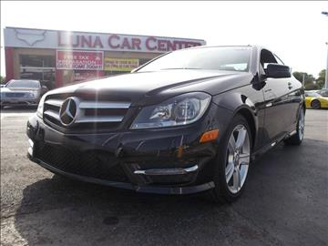 2013 Mercedes-Benz C-Class for sale at LUNA CAR CENTER in San Antonio TX