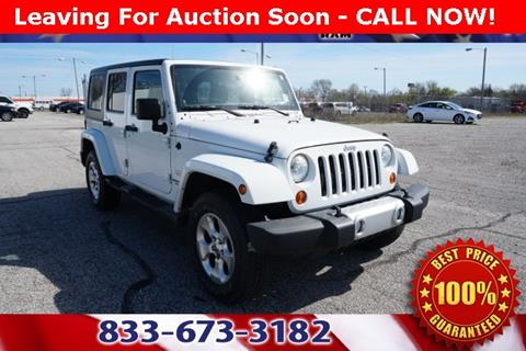 2013 Jeep Wrangler Unlimited for sale in Fort Wayne, IN