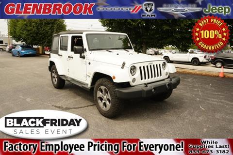 2015 Jeep Wrangler Unlimited for sale in Fort Wayne, IN