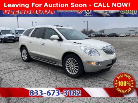 2012 Buick Enclave Leather for sale at Glenbrook Dodge Chrysler Jeep Ram and Fiat in Fort Wayne IN