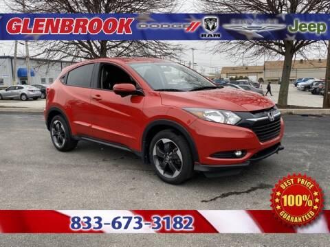 2018 Honda HR-V EX for sale at Glenbrook Dodge Chrysler Jeep Ram and Fiat in Fort Wayne IN