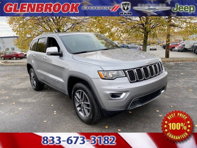 2017 Jeep Grand Cherokee for sale at Glenbrook Dodge Chrysler Jeep Ram and Fiat in Fort Wayne IN