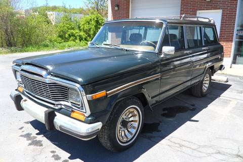 1981 Jeep Wagoneer for sale at One Stop Auto Sales, Collision & Service Center in Somerset PA