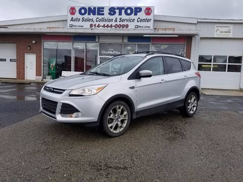 2014 Ford Escape for sale at One Stop Auto Sales, Collision & Service Center in Somerset PA
