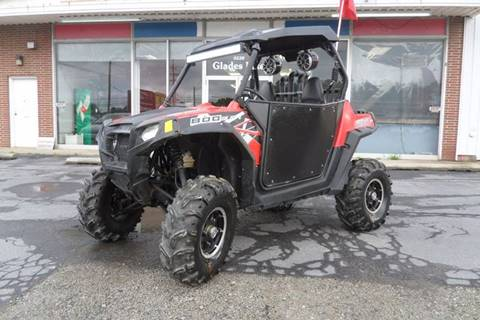 2012 Polaris Ranger RZR 800 S for sale at One Stop Auto Sales, Collision & Service Center in Somerset PA