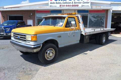 1989 Ford F-250 Super Duty for sale at One Stop Auto Sales, Collision & Service Center in Somerset PA