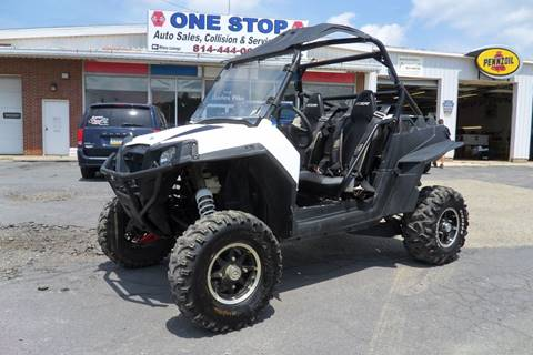 2013 Polaris Rzr XP 900 for sale at One Stop Auto Sales, Collision & Service Center in Somerset PA