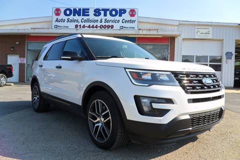 2016 Ford Explorer for sale at One Stop Auto Sales, Collision & Service Center in Somerset PA