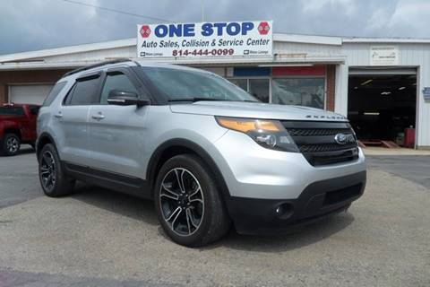 2015 Ford Explorer for sale at One Stop Auto Sales, Collision & Service Center in Somerset PA