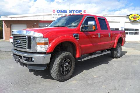 2010 Ford F-250 Super Duty for sale at One Stop Auto Sales, Collision & Service Center in Somerset PA