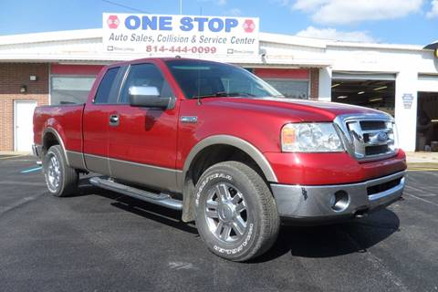 2008 Ford F-150 for sale at One Stop Auto Sales, Collision & Service Center in Somerset PA