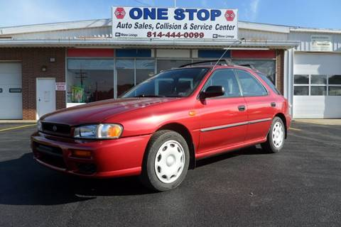 2000 Subaru Impreza for sale at One Stop Auto Sales, Collision & Service Center in Somerset PA