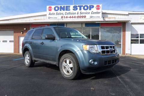 2010 Ford Escape for sale at One Stop Auto Sales, Collision & Service Center in Somerset PA
